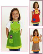 Jungle Friends Apron sewing pattern from Cotton Ginnys 2