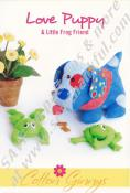 Love Puppy & Little Frog Friend pattern from Cotton Ginnys 3