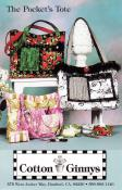 The Pockets Tote sewing pattern from Cotton Ginnys