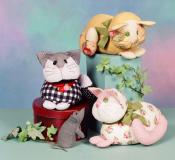 Purrfect Kitty sewing pattern from Cotton Ginnys