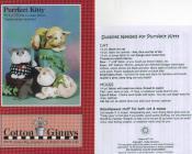 Purrfect Kitty stuffed kitty + catnip mouse pattern from Cotton Ginnys 2