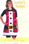 INVENTORY REDUCTION -- Santa's Helper Apron pattern from Cotton Ginnys 1