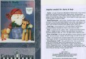 Santa & Rudy pattern from Cotton Ginnys 1