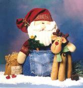 Santa & Rudy pattern from Cotton Ginnys 3