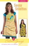 CLOSEOUT...Sassy Stilettos Apron pattern from Cotton Ginnys