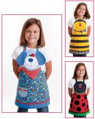 Cute Friends Aprons (children's) apron sewing pattern from Cotton Ginnys 3