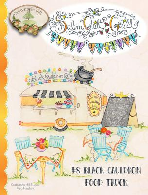 Salem Quilt Guild Campout #8 Black Cauldron Food Truck sewing pattern from Crabapple Hill Designs