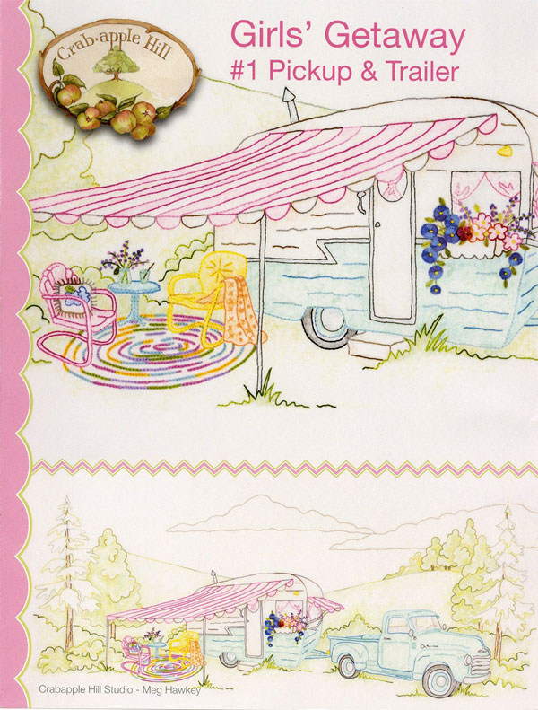 Girls Getaway 1 Pickup And Trailer Sewing Pattern From