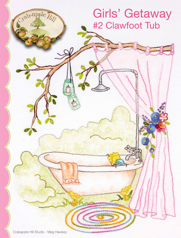 Girls-Getaway-2-Clawfoot-Tub-sewing-pattern-Crabapple-Hill-Designs-front