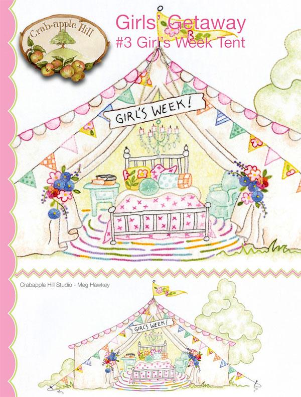 Girls-Getaway-3-Girls-Week-Tent-sewing-pattern-Crabapple-Hill-Designs-front