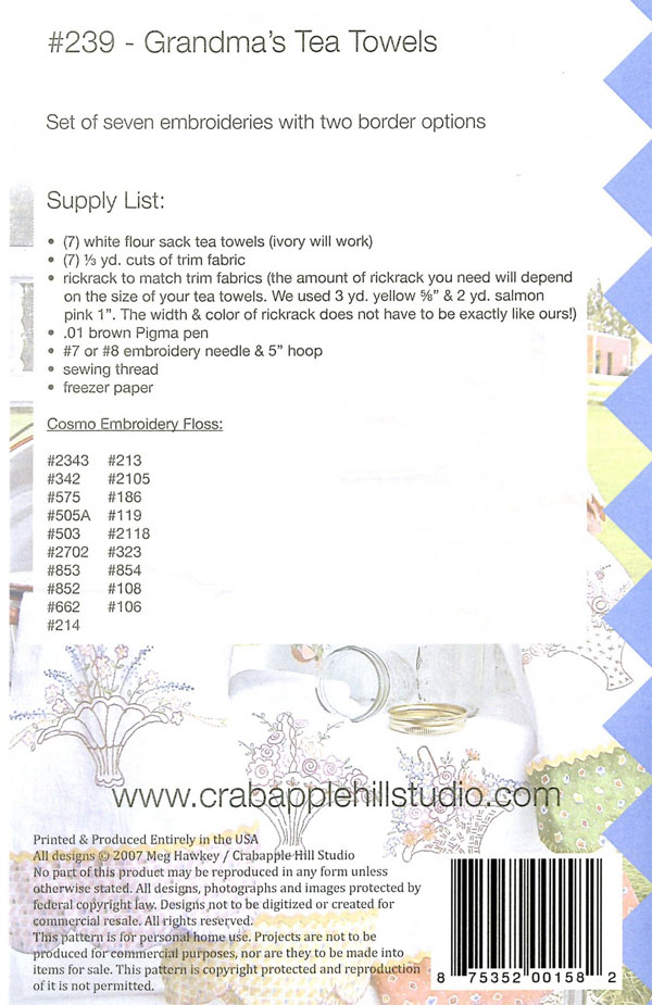 Grandmas-Tea-Towels-sewing-pattern-Crabapple-Hill-Designs-back