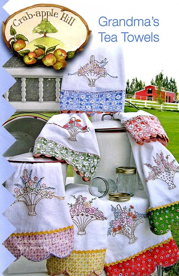 Grandmas-Tea-Towels-sewing-pattern-Crabapple-Hill-Designs-front