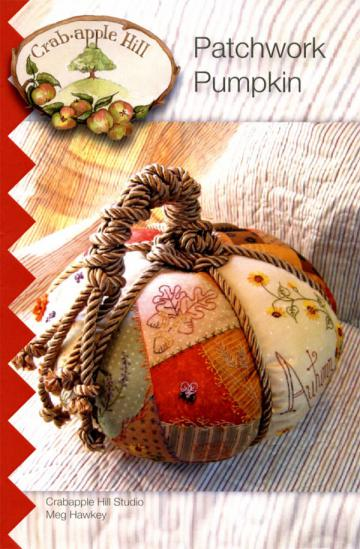 Patchwork-Pumpkin-sewing-pattern-Crabapple-Hill-Designs-front