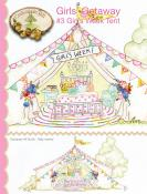 Girls' Getaway #3 Girl's Week Tent sewing pattern from Crabapple Hill Designs