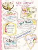 Girls' Getaway #5 Lace & Signs sewing pattern from Crabapple Hill Designs