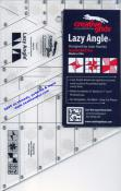 Creative Grids Lazy Angle Ruler 6.5in x 10.309 with 45 degree angle cut