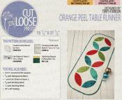 Orange Peel Table Runner sewing pattern Cut Loose Press