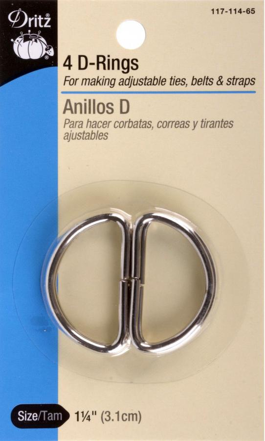 D-Ring-Silver-1-inch-1-quarter-inch-pack-4-from-dritz-front