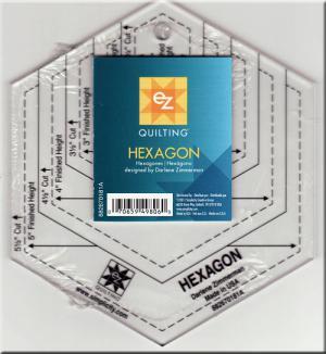Hexagon Ruler - 5 1/2