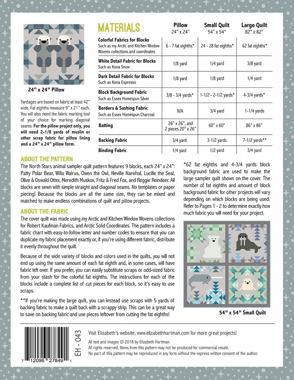 North-Stars-quilt-sewing-pattern-Elizabeth-Hartman-back