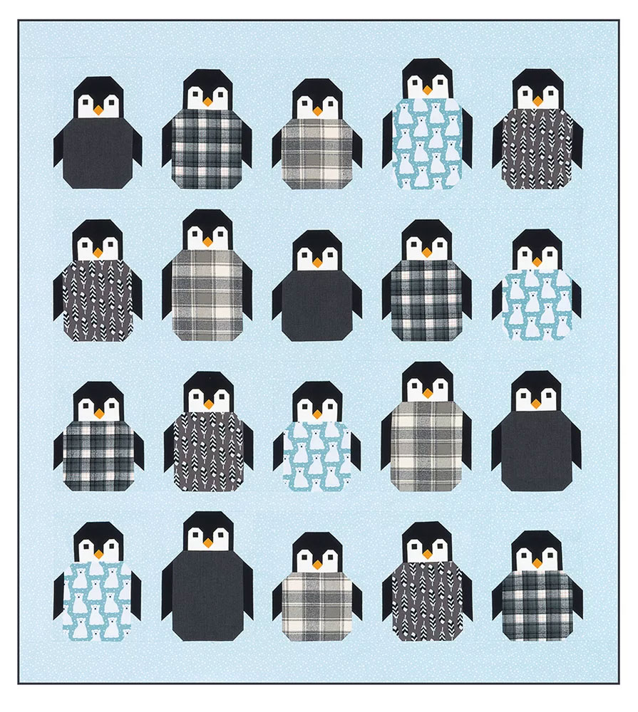 Penguin-Party-quilt-sewing-pattern-Elizabeth-Hartman-2