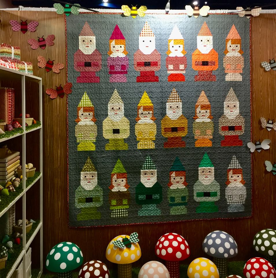 QuiltMarket2018_GnomeQuiltBooth