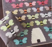 Beehive quilt sewing pattern by Elizabeth Hartman 2
