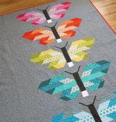 Fancy Firefly quilt sewing pattern by Elizabeth Hartman image 1