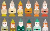 Norm & Nanette Gnomes quilt sewing pattern by Elizabeth Hartman 3
