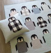 Penguin Party quilt sewing pattern by Elizabeth Hartman 2
