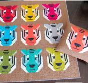 Antonia Tiger quilt sewing pattern by Elizabeth Hartman 2