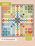 August quilt sewing pattern by Elizabeth Hartman