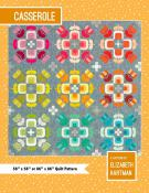 INVENTORY REDUCTION...Casserole quilt sewing pattern by Elizabeth Hartman