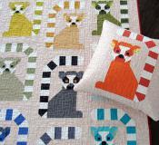 Lana Lemur quilt sewing pattern by Elizabeth Hartman 2