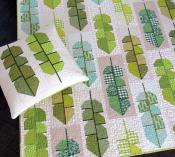 Leafy quilt sewing pattern by Elizabeth Hartman 2