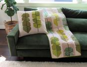 Leafy quilt sewing pattern by Elizabeth Hartman 6