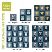 Spectacular Savanna quilt sewing pattern by Elizabeth Hartman 4