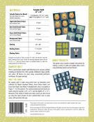 Spectacular Savanna quilt sewing pattern by Elizabeth Hartman 1