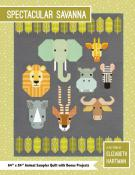 Spectacular Savanna quilt sewing pattern by Elizabeth Hartman