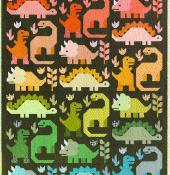 Dinosaurs quilt sewing pattern by Elizabeth Hartman 2
