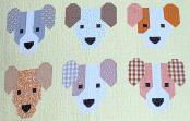 The Puppies quilt sewing pattern by Elizabeth Hartman 3