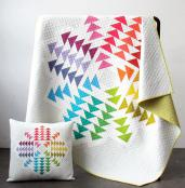Crystal Cluster quilt sewing pattern by Elizabeth Hartman 2