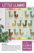 Little Llamas quilt sewing pattern by Elizabeth Hartman