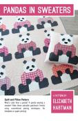 Jingle Bell Special (expires 11:59PM ET on 10/26/21)...Pandas In Sweaters quilt sewing pattern by Elizabeth Hartman