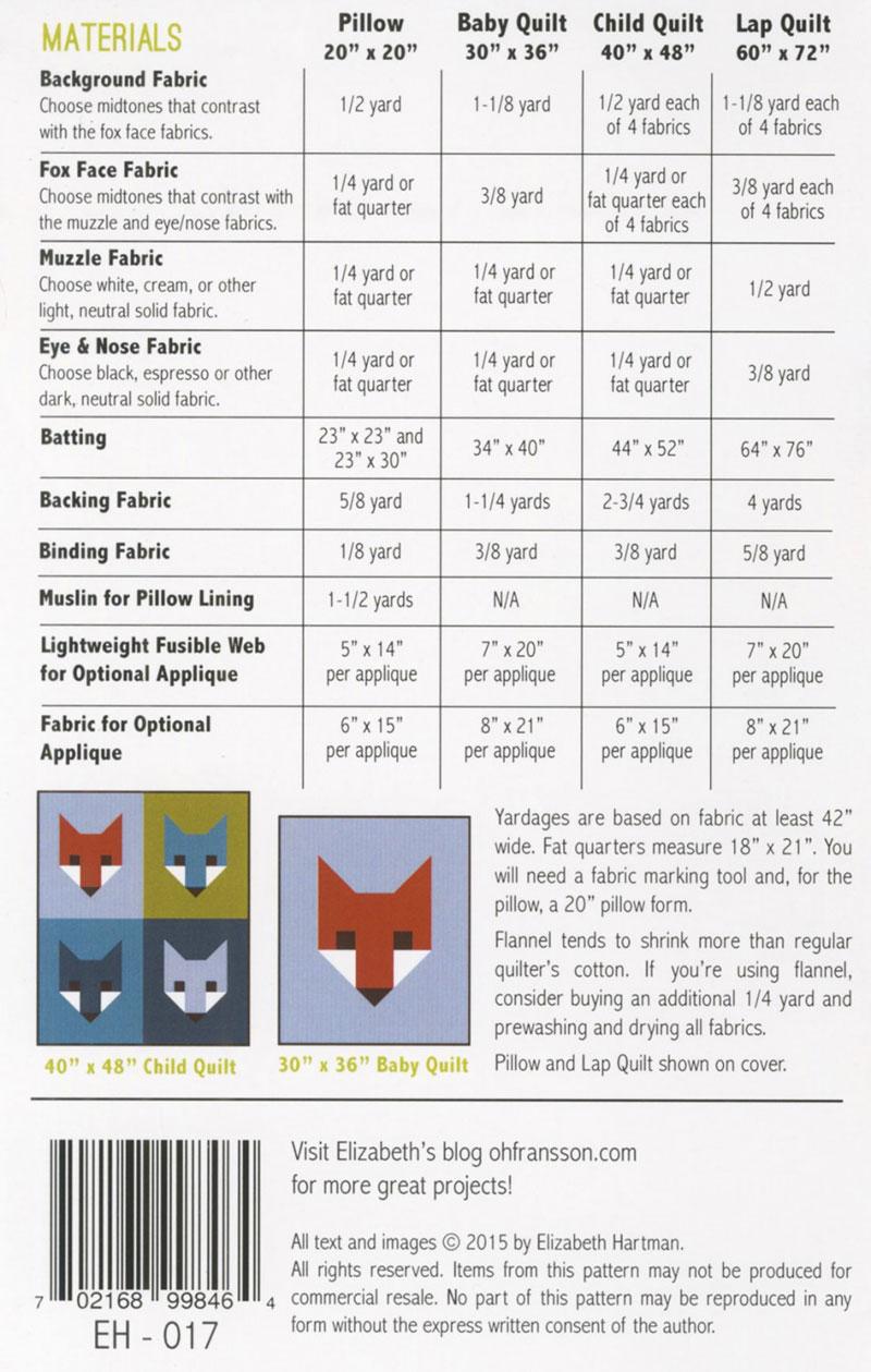 Fancy-Fox-II-quilt-sewing-pattern-Elizabeth-Hartman-quilts-design-back