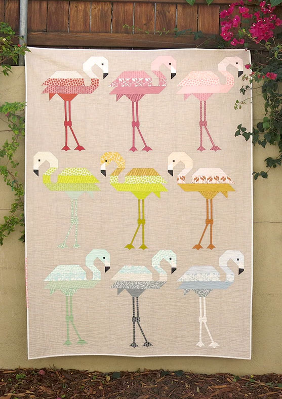 Florence-Flamingo-quilt-sewing-pattern-Elizabeth-Hartman-quilts-designs-1