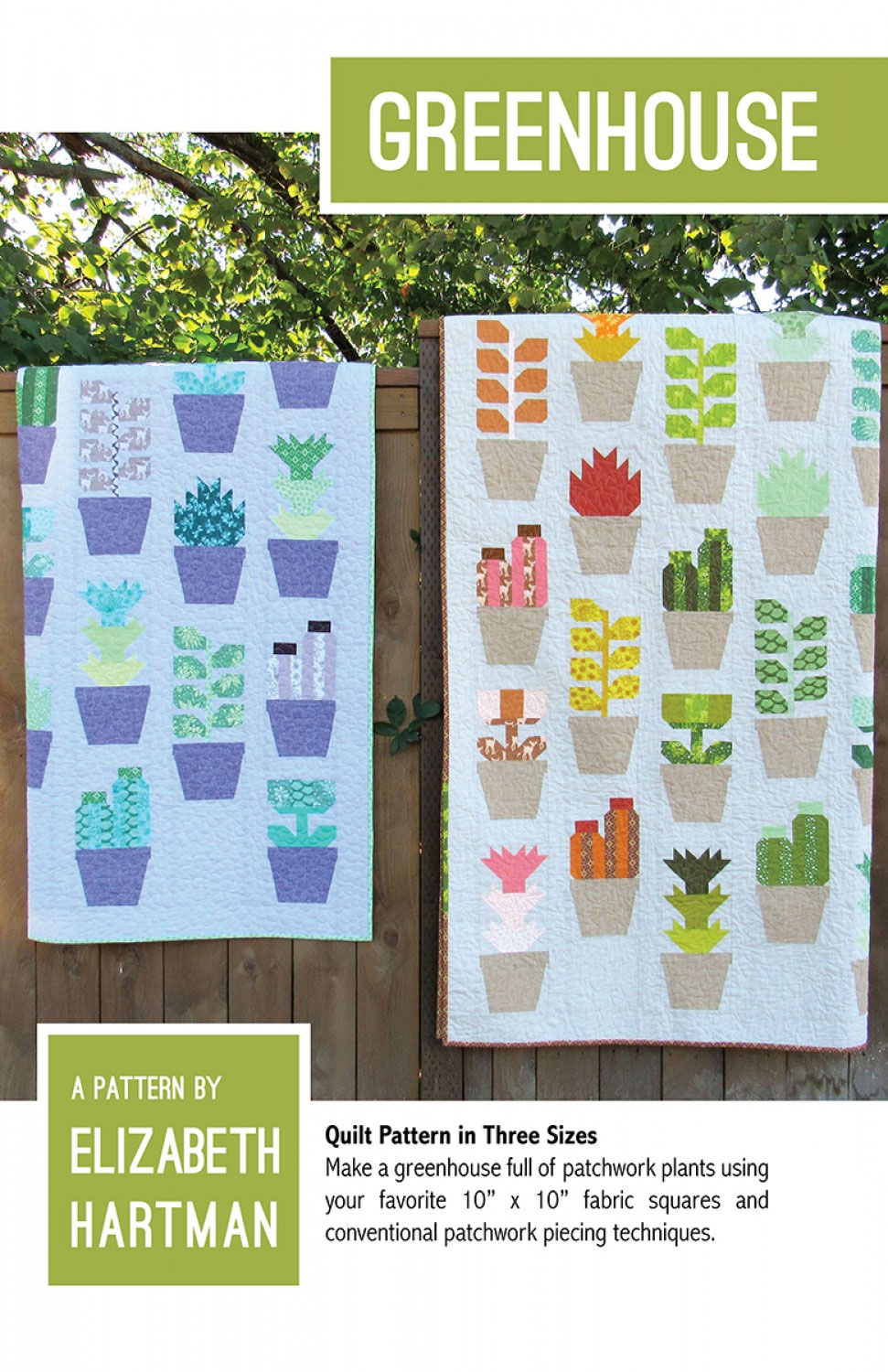 Greenhouse quilt sewing pattern by elizabeth hartman greenhouse quilt sewing pattern elizabeth hartman front jeuxipadfo Gallery
