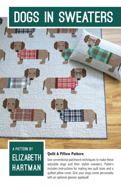 Dogs-in-Sweaters-quilt-sewing-pattern-Elizabeth-Hartman-quilts-design-front