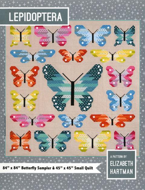 Lepidoptera - Butterfly Sampler Quilt sewing pattern by Elizabeth Hartman