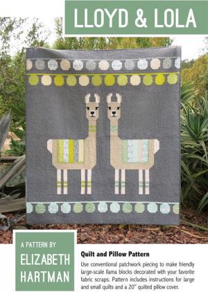 Lloyd & Lola quilt sewing pattern by Elizabeth Hartman